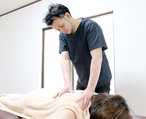 肩・肩甲骨の調整