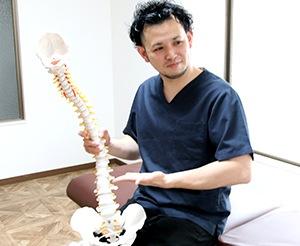 骨盤は背骨を支えている大切な部分です